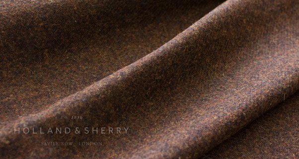 Harris Tweed – a comparatively course handle but nevertheless exceptionally finished using water from the Outer Hebrides.