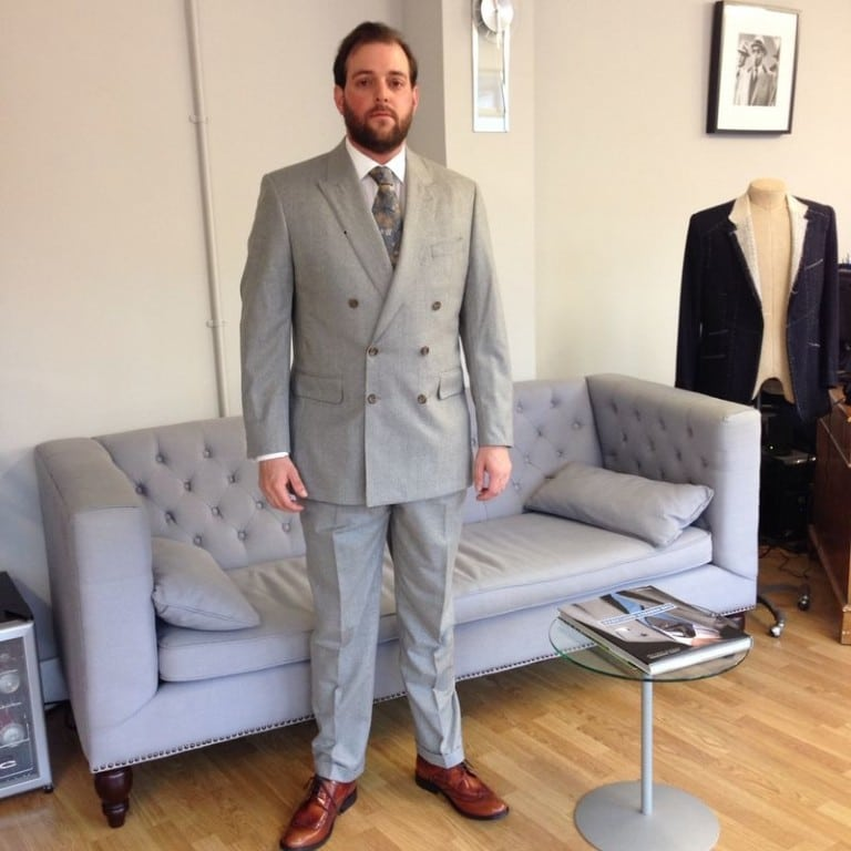 Another K&A customer showing how a DB suit should be worn.