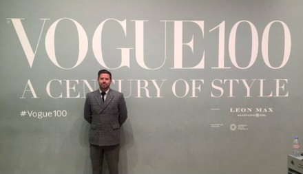 King & Allen is featured in the Vogue 100 Exhibition at the National Portrait Gallery