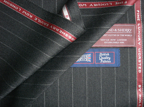 Do you know the history of your suit style or where the cloth it is cut from?
