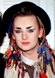 Boy George – a Dandy of the 1980s, but not the 1780s…