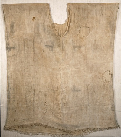 Linen garment from a tomb at Thebes, Egypt (c. 1350 BC)From a tomb in Kom-el Ahmar, Egypt.