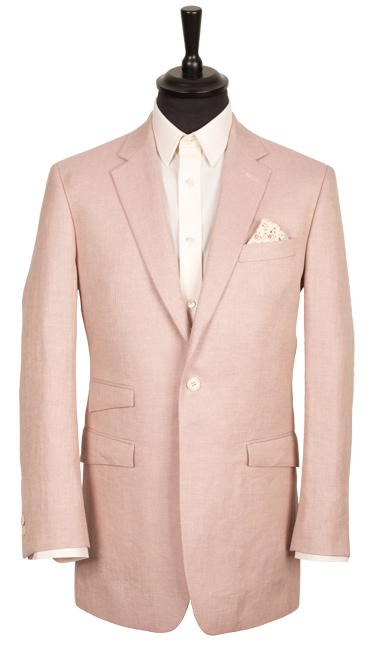 Linen – the perfect cloth for summer suiting