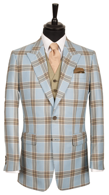 The King & Allen Flamboyant Check Suit