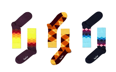 Take a gander at Happy Socks, for a plethora of outrageous, good quality socks.