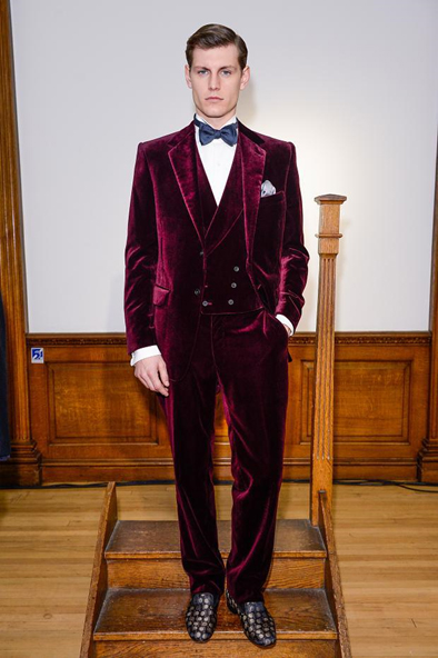Velvet suits – on trend for men in 2015?