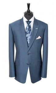 A beautiful example of a Mohair suit with its distinctive tonic finish