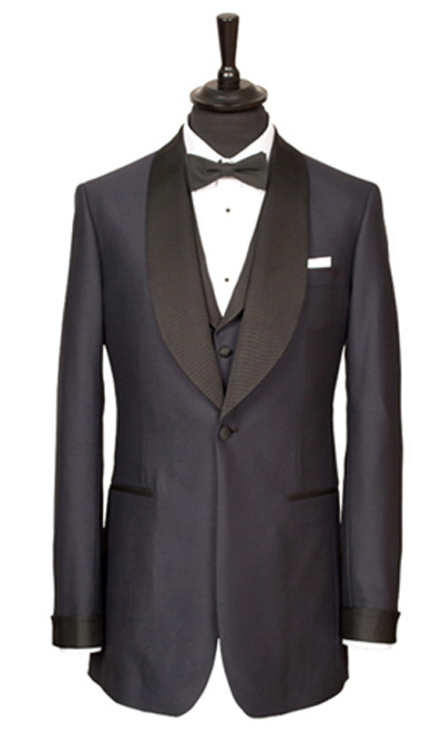 The tailored Black Tie