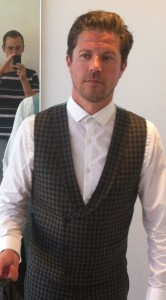 The entirely original waistcoat. A masterpiece!