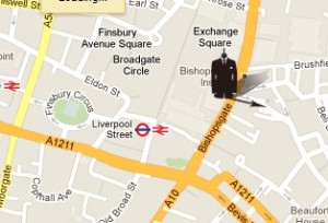The new showroom is conveniently located for anyone working in the Square Mile