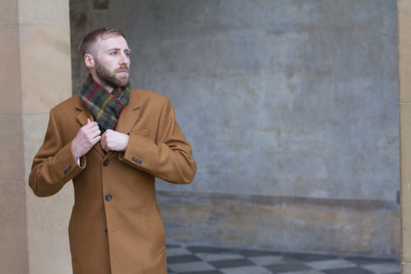 Bespoke Overcoats by King & Allen